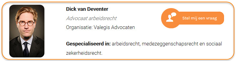 Dick van Deventer - Valegis Advocaten