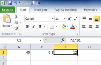 Percentages Berekenen In Excel 100 Handig Redactie Office Rendement