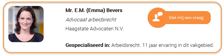 Emma Bevers - Haagstate Advocaten N.V.