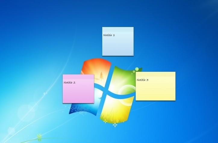 Plak uw bureaublad vol met herinneringen redactie office for Windows 7 bureaublad